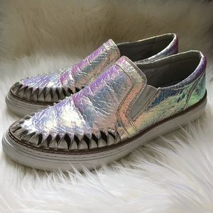 SixtySeven Holographic Slip In Shoes